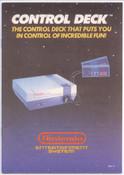 Control Deck - NES Manual (Med)