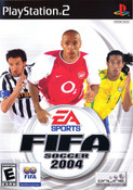 Fifa Soccer 2004 - PS2 Game
