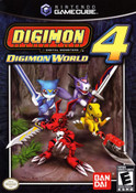 Digimon World 4 - GameCube Game