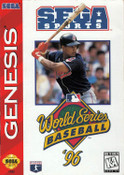 World Series Baseball 96 - Genesis Game