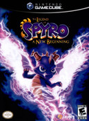Legend of Spyro A New Beginning - GameCube Game