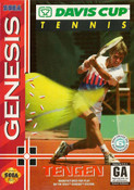 Davis Cup Tennis Genesis Cover Art
