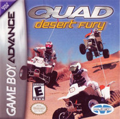 Quad Desert Fury - Game Boy Advance Game