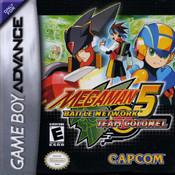 Mega Man Battle Network 5 Colonel - Game Boy Advance Game