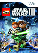 Lego Star Wars III The Clone Wars - Wii Game