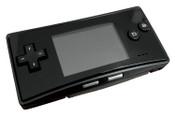Game Boy Advance Micro System Black w/ Black Faceplate