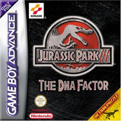 Jurassic Park III The DNA Factor - Game Boy Advance Game