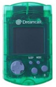 Original VMU Memory Card Green - Dreamcast