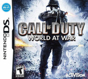 Call of Duty World at War Nintedno DS Game