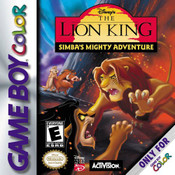 Lion King Simba's Mighty Adventure, The - Game Boy Color Game