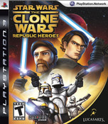 Star Wars The Clone Wars Republic Heroes - PS3 Game