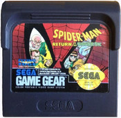 Spider-Man Return of the Sinister Six - Game Gear Game