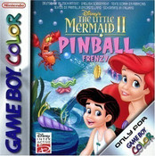 The Little Mermaid II Pinball Frenzy - Game Boy Color Game