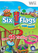 Six Flags Fun Park - Wii Game