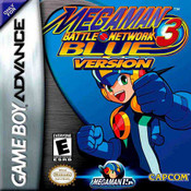 Mega Man Battle Network 3 Blue - Game Boy Advance Game