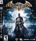 Batman Arkham Asylum - PS3 Game