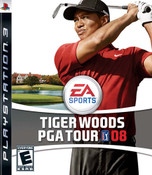 Tiger Woods PGA Tour 08 - PS3 Game