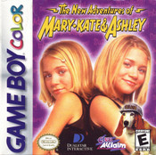 Mary-Kate and Ashley New Adventures - Game Boy Color Game