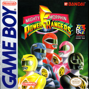 Mighty Morphin Power Rangers - Game Boy Game