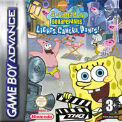 SpongeBob SquarePants Lights Camera Pants - Game Boy Advance Game