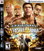 WWE Legends of Wrestlemania - PS3 Game