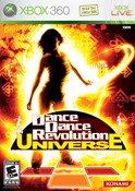 Dance Dance Revolution Universe - Xbox 360 Game