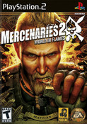 Mercenaries 2 World in Flames - PS2 Game