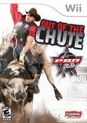 PBR Out of the Chute- Wii Game