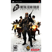 Metal Gear Solid Portable Ops - PSP Game