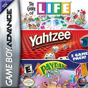 Life/Yahtzee/Payday - Game Boy Advance Game