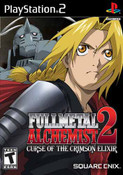 Fullmetal Alchemist 2 Curse of the Crimson Elixir - PS2