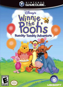 Winnie the Pooh Rumbly Tumbly Adventure - Gamecube Game