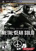 Metal Gear Solid: Peace Walker - PSP Game