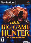 Cabela's Big Game Hunter 2005 Adventures - PS2 Game