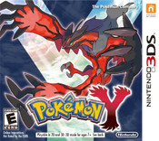 Pokemon Y - 3DS Game