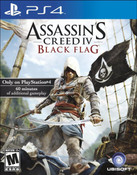 Assassins Creed IV Black Flag - PS4 Game