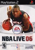 NBA Live 2006 - PS2 Game