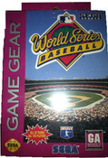 World Series Baseball - Game Gear Game