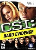 CSI: Hard Evidence - Wii Game