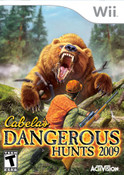 Cabela's Dangerous Hunts 2009 - Wii Game