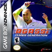 Agassi Tennis Generation - Game Boy Advance Game