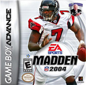 Madden 2004 - Game Boy Advance Game
