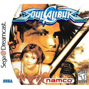 Soul Calibur Sega Dreamcast used video game for sale online.
