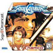 Soul Calibur Sega Dreamcast used video game for sale online.