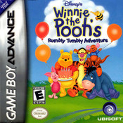 Winnie the Pooh Rumbly Tumbly Adventure - Game Boy Advance Game