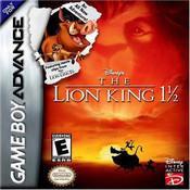 Lion King 1 1/2 - Game Boy Advance Game