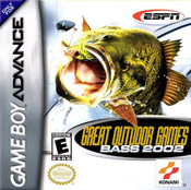 Great Outdoor Games Bass 2002 - Game Boy Advance Game