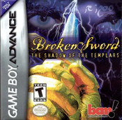 Broken Sword The Shadow of the Templars - Game Boy Advance Game