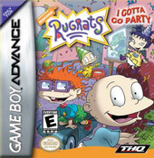 Rugrats I Gotta Go Party - Game Boy Advance Game