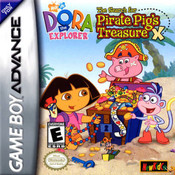 Dora the Explorer: The Hunt for Pirate Pig's Treasure - Game Boy Advance
